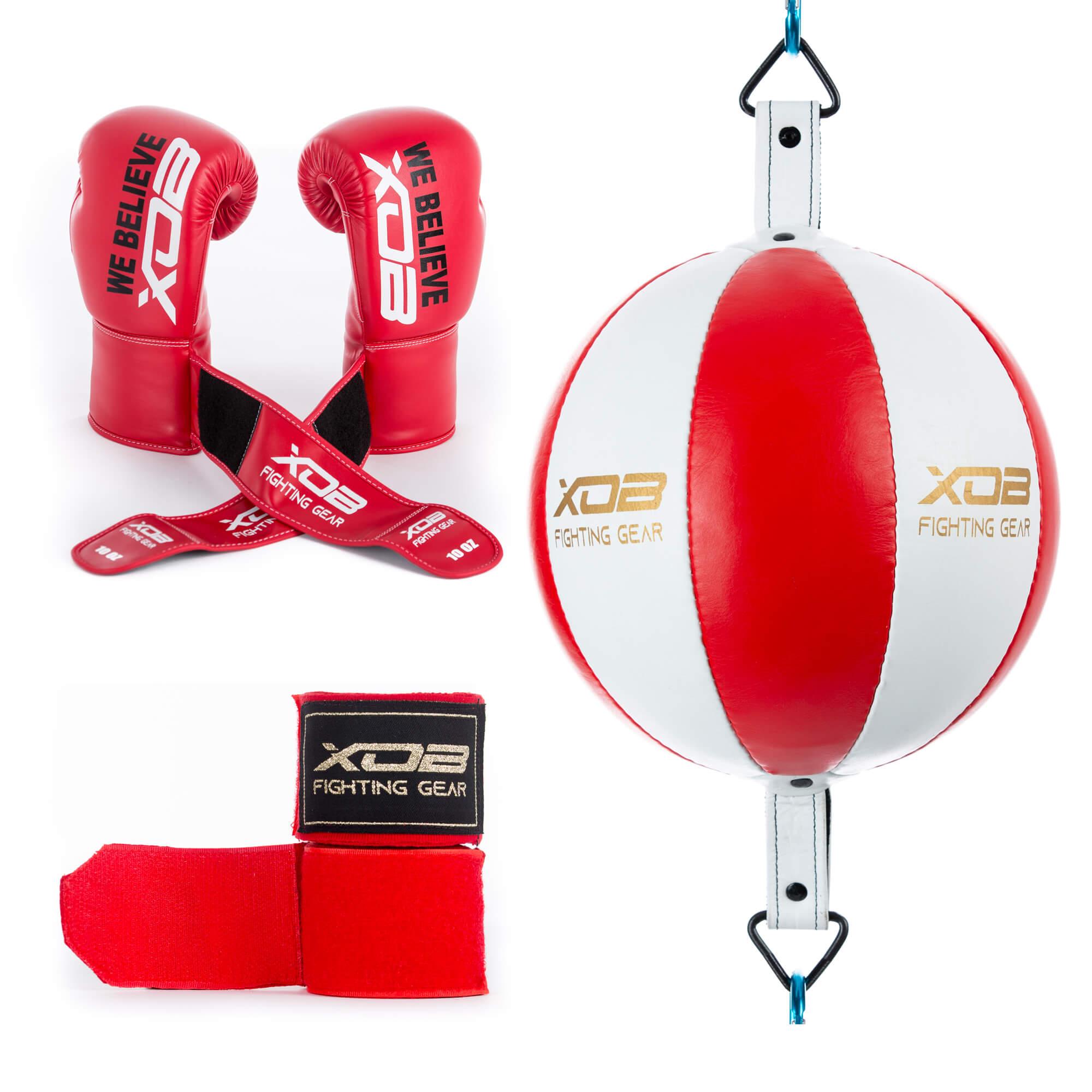 XOB Double end bag shadow hoop n loop boxing gloves mexican style