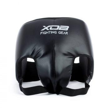 Protecteur d'aine léger confortable coquille de boxe couleur noir